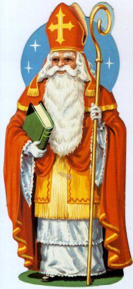 La fête de Saint Nicolas le 6 décembre